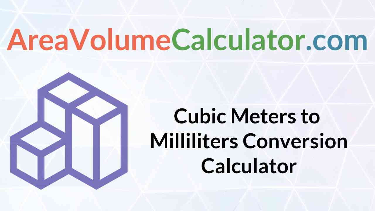 Milliliters Conversion Calculator