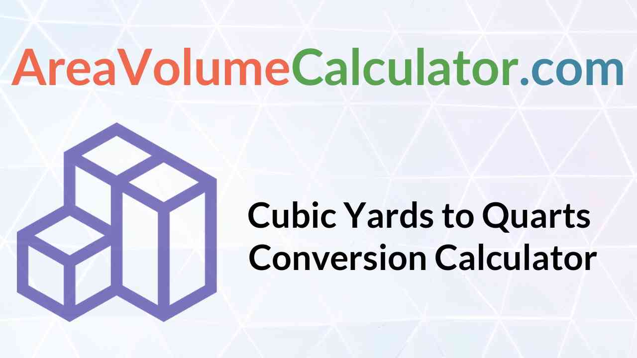 Quarts Conversion Calculator