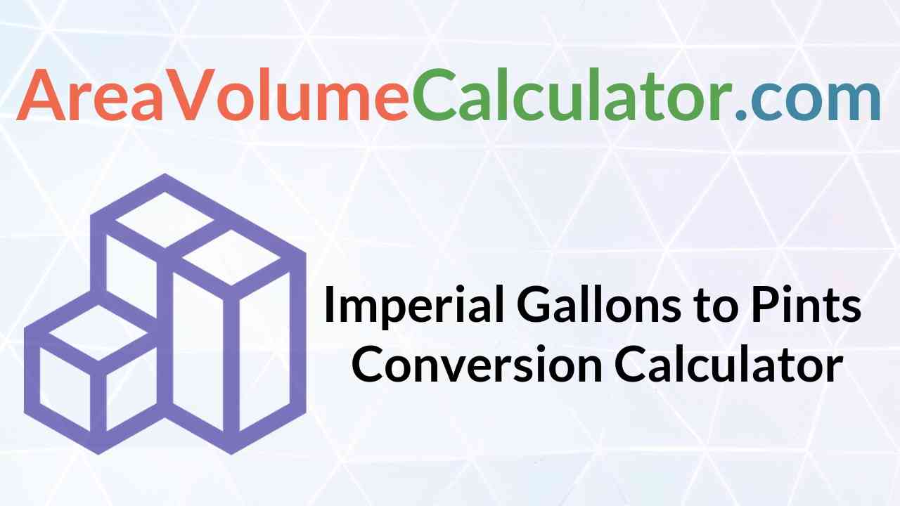 Pints Conversion Calculator