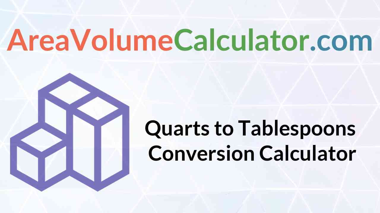 Tablespoons Conversion Calculator